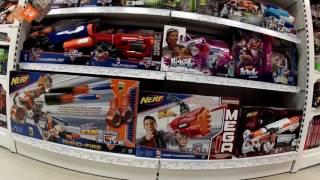 VLOG Идем за игрушками в TOY.RU - выбираем Лего, Энгри Бердс, Нерф, Щенячий патруль