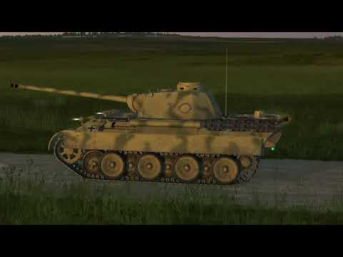 "IL-2 Tank Crew   Pz.Kpfw.V Aust.D ""Panther""   Prokhorovka"