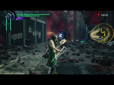 Devil May Cry 5 Mission 4 (S Rank/Dante Must Die)