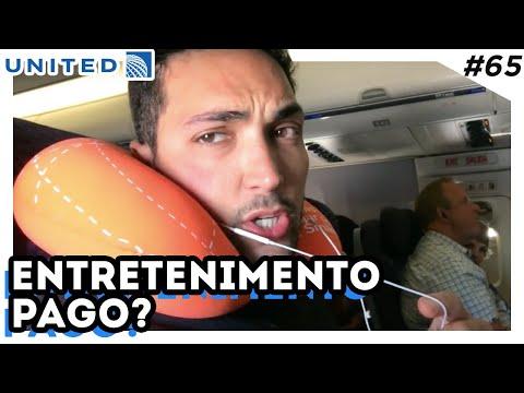 O QUE FAZER DENTRO DO AVIÃO - BOEING 767 UNITED - ECONOMICA, sono, COMIDA, vinho