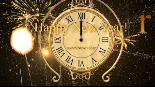 Happy New Year CLOCK 2020 Original Countdown Timer with Sound Effects