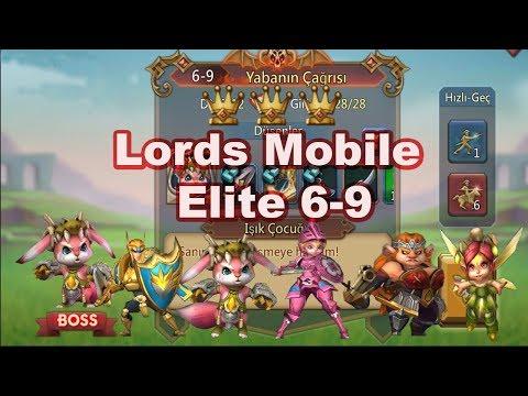 Lords Mobile 6 - 9 Elite 3 Stars