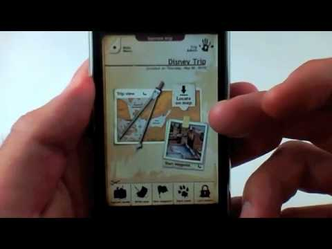 Trip Journal iPhone App Review - #1 Travel Application By Google!