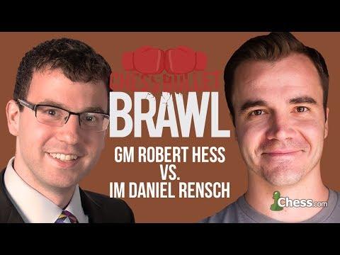 Grandmaster Hess vs International Master Rensch: Bullet Showdown!