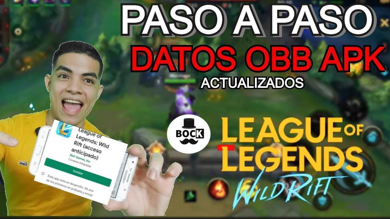 BAJATE LOLCITO  BIEN EXPLICADO Descarga League Of Legends Wild Rift  Paso a Paso. Beta abierta