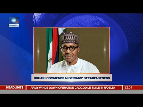 News@10: Buhari Commends Nigeria's Steadfastness 11/09/16 Pt. 1