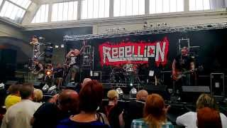 Control - Ballad Of The Working Man - Live at Rebellion 2013
