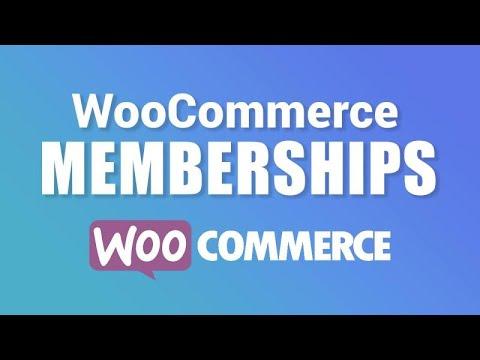 WooCommerce Memberships Tutorial: Create A Membership Website With Wordpress
