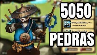 5050 PEDRAS em Busca do Mo Long ! Summons do Dinho (PinceEvil)