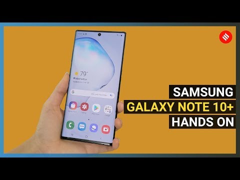 Samsung Galaxy Note 10+ hands-on: This premium flagship feels just right