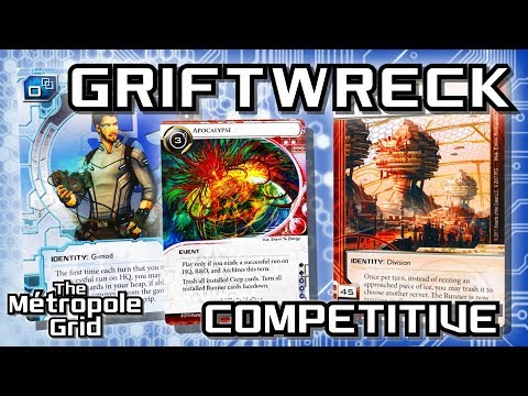 Android: Netrunner // Griftwreck Steve vs. AgInfusion - Competitive