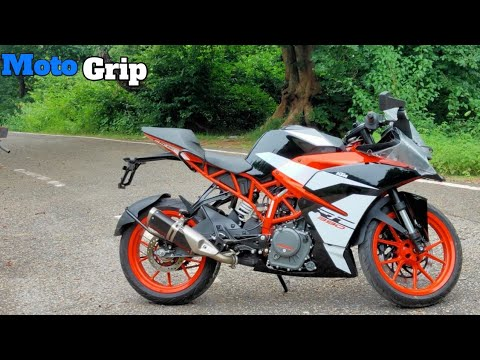 2019 KTM RC 390 complete hindi Review|price and features- I'm impress from this Motorcycle#motogrip.