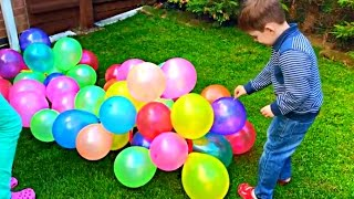 Learn Colors with Balloons For Kids