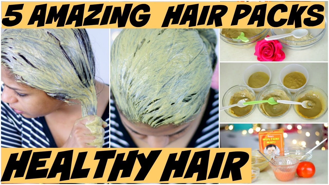 5 Amazing Hair Packs For Oily Hair Itchy Scalphair Thinningdry