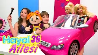 Adrian Lili'ye Barbie arabası alıyor