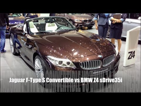 Jaguar F Type S Convertible Vs Bmw Z4 Sdrive35i Youtube