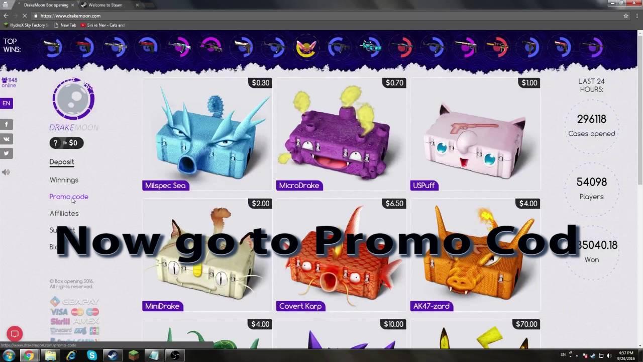 promo code drakemoon