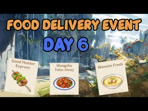 While It's Warm Event Day 6 - Genshin Impact Food Delivery