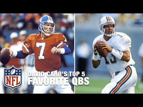 Top 5 Quarterbacks of All Time According to David Carr | NFL Now
