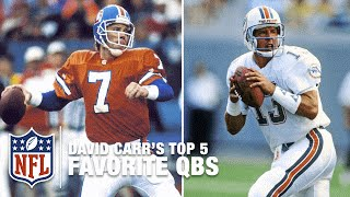 Top 5 Quarterbacks of All Time According to David Carr | NFL Now