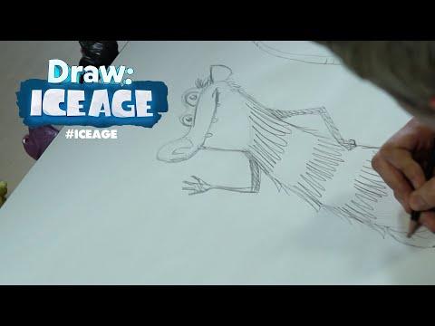 Ice Age | Draw Me: Crash and Eddie | FOX Family