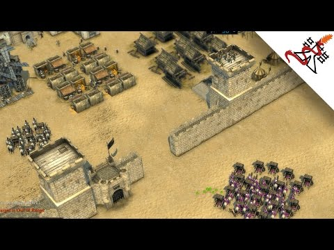 Stronghold Crusader 2 Multiplayer - Dmitri (Firefly Staff) vs SergiuHellDragoonHQ | Deathmatch