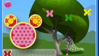 micky mouse clubhouse games minnie s flutterin butterfly bow