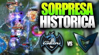 LA MAYOR SORPRESA DE LOS WORLDS!! | LONGZHU vs SSG | Resumen y Highlights