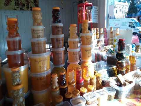 Что самое вкусное на Кавказе? Конечно мед и пироги! Пойдем пробовать. Лазаревское(Сочи)