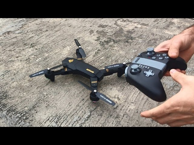 Drone VISUO XS809W Analisis Completo || Test de vuelo-Camara