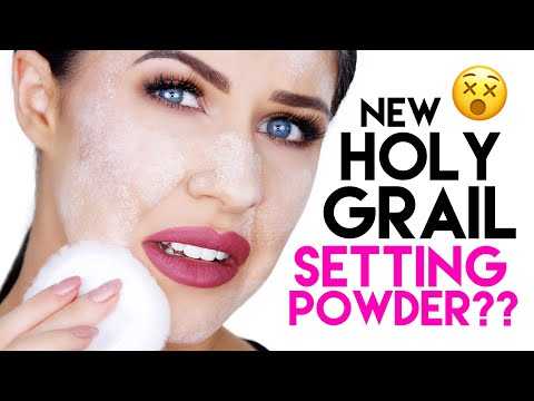 NEW HOLY GRAIL SETTING POWDER FOR OILY SKIN??! COTY AIRSPUN 3 DAY WEAR TEST!!!
