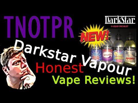 Honest Review! Darkstar Vapours Bottle Shots (e juice | e liquid)