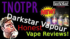 Honest Review! Darkstar Vapours Bottle Shots (e juice | e liquid)