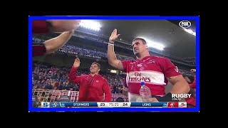 Breaking News | Stormers v Lions Rd.15 2018 Super rugby video highlights| Super Rugby Video Highlig