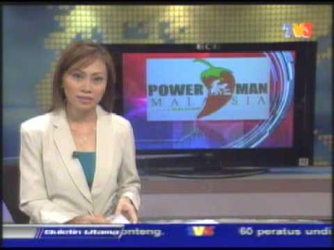 Powerman Malaysia 2007 TV3 - Bulletin Utama
