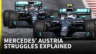 Mercedes finally shows its 2019 F1 car has a weakness