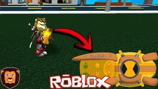 L'OMNITRIX DE LEON PICARON IN ROBLOX ALL BEN 10 SONIC ALIEN IN ROBLOX LEON PICARON