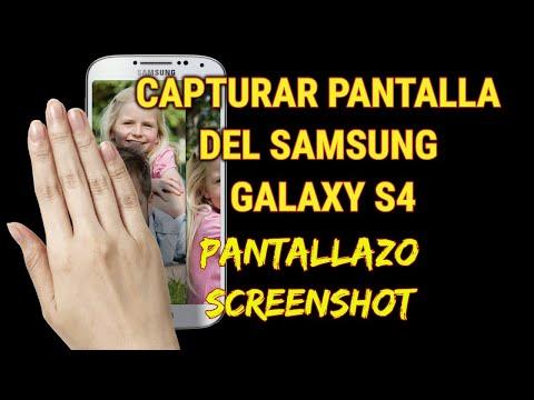 2 formas de capturar la pantalla del Samsung Galaxy S4 (screenshot)