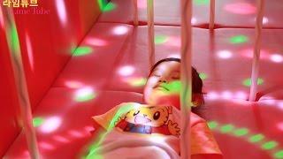 타요 키즈 카페 라이트 장난감 놀이 2편 뽀로로 Tayo Bus Car Kids Cafe Light  Toys Play ТАЙО автобус Игрушки 라임튜브