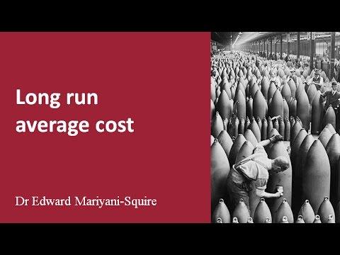 Average costs: long run