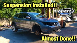 Rebuilding A Totaled Wrecked 2018 Nissan Rogue Part 1 From Copart Salvage Auction