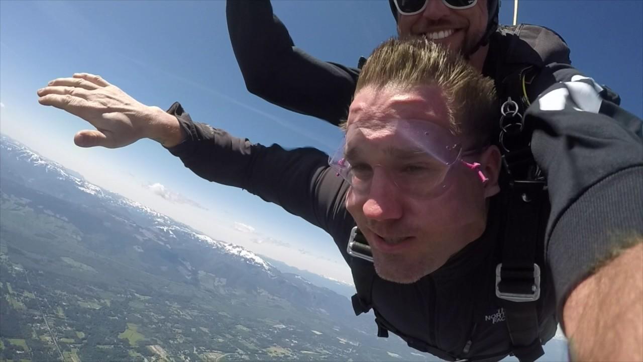Skydive Vancouver Island   Skydive in BC   Qualicum British