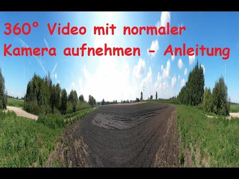 360 Grad Video mit Handy erstellen / 360° Bild mit dem Smartphone / Kamera selber machen DIY VR Foto