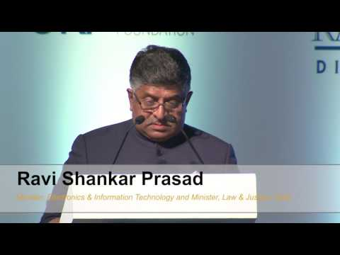 Raisina 2017 | Ministerial Address of Ravi Shankar Prasad
