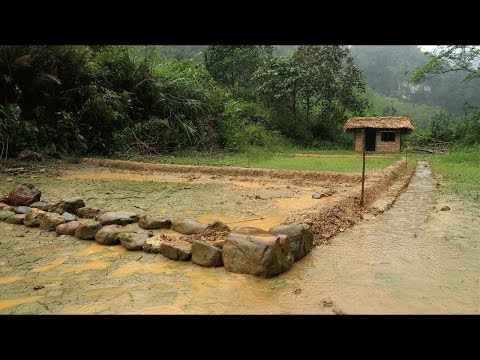 Primitive technology: Farmland, land reclamation to grow rice - Part 1