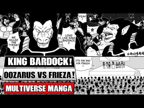 Dragon Ball Multiverse Chapters 20 And 21: Bardock Becomes King! Saiyan Oozaru's Vs Frieza!