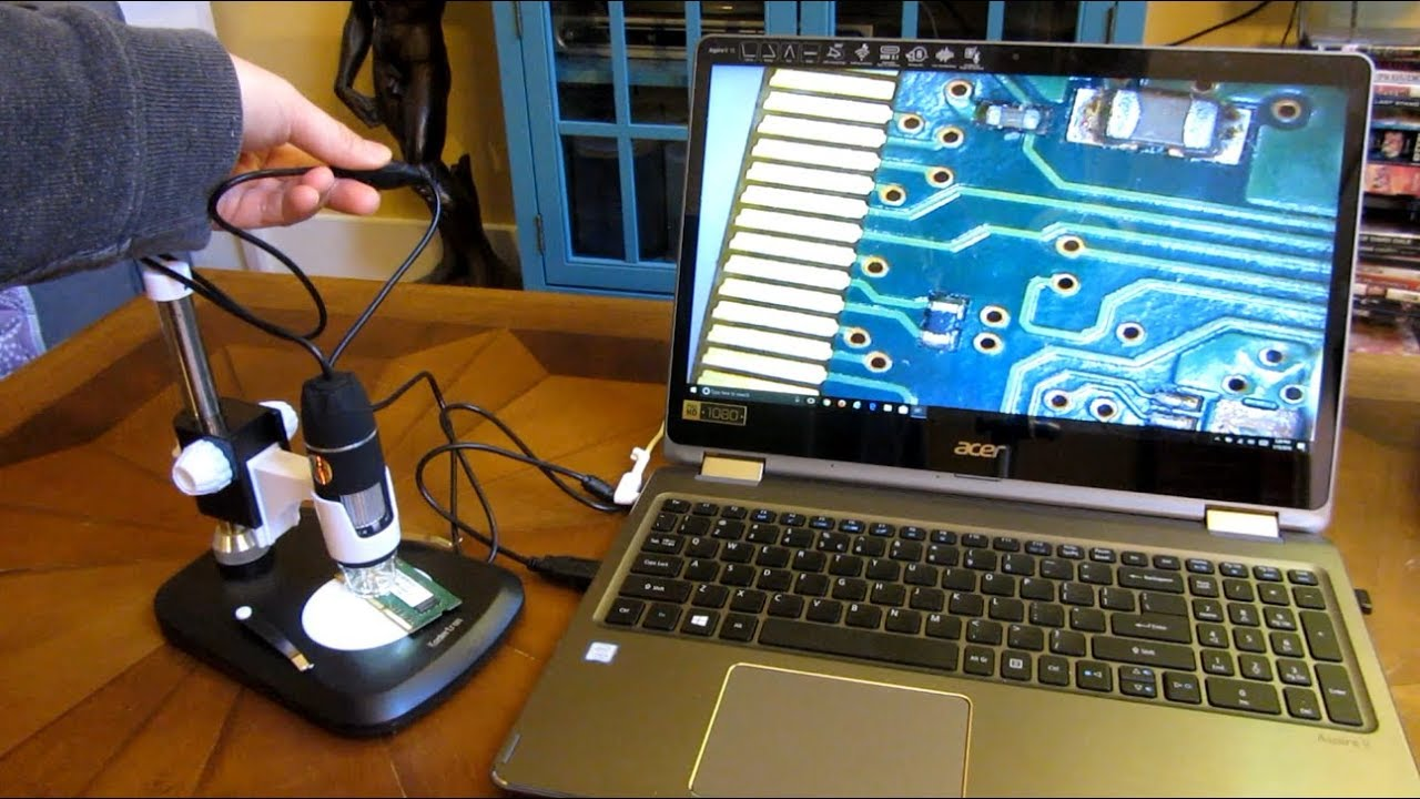 Koolertron usb digital microscope full review and demo
