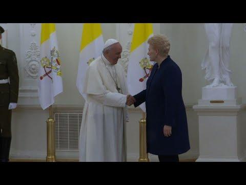 Papa vista Lituânia