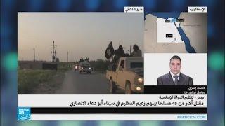 """مقتل زعيم تنظيم """"ولاية سيناء"""" في مصر"""