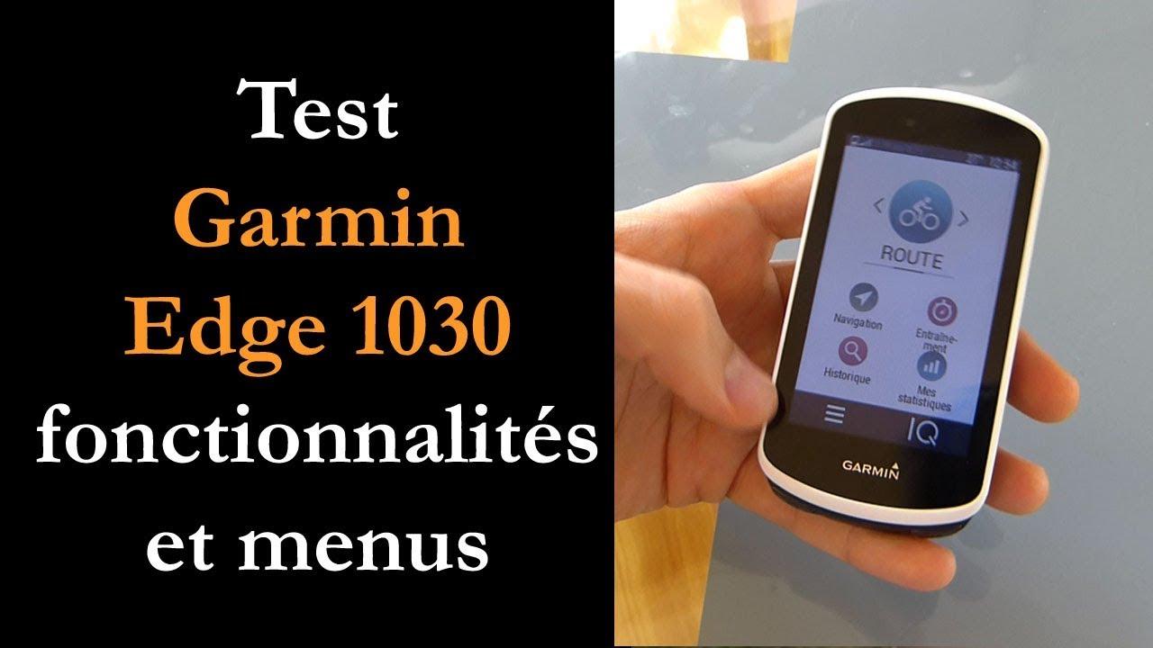 foto de Test Garmin Edge 1030 - YouTube